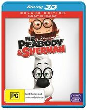 Mr Peabody and Sherman 3D : NEW Blu-Ray 3-D