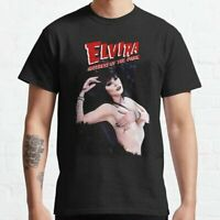 Elvira Mistress of the Dark Classic T-Shirt Unisex Alduts 80s Horror Film S-3XL