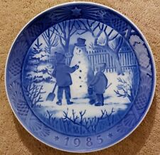 Nice Vintage Royal Cogenhagen Plate 1985-The Snowman