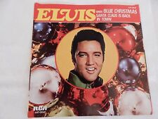 """Elvis Presley """"Blue Christmas"""" PICTURE SLEEVE! NEW! ABSOLUTELY PERFECT!!"""