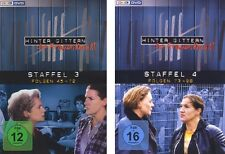 12 DVDs * HINTER GITTERN - DER FRAUENKNAST - STAFFEL 3 + 4 IM SET # NEU OVP §