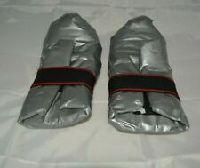 Karate Taekwondo Martial Arts LONG LIFE Sparring Gloves SILVER Vinyl S 6 oz USA