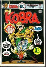 Kobra 1 COVER PROOF ART Adler Pedigree First Appearance Cobra Ernie Chan 1976 DC