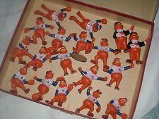 (11) 1986 Gulf Official Montreal Expos Youppi Baseball (18) Figurines Set + Box
