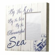"""By The Sea Box Photo Frame for 4"""" x 6"""" Photo Seaside Look"""