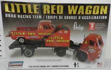 LINDBERG LITTLE RED WAGON TRUCK RACE TEAM L700 MOPAR A100 DODGE BOYS MODEL KIT