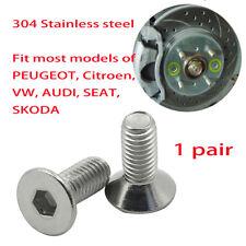 1pair Brake Disc Rotor Screw Screws For Audi A1 - A7 VW / Volkswagen N10648301