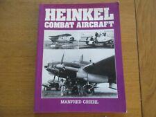 HEINKEL COMBAT AIRCRAFT - MANFRED GRIEHL  - AVIATION MILITAIRE PILOTE TECHNIQUE