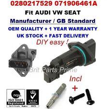 AUDI A3(8L1) A4(8E2, B6) 1.9TDI Mass Air Flow meter Sensor 0280217529 071906461A