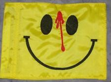 Custom OUCHY SMILEY Safety Flag for  ATV DirtBike JEEP Dune Pole Whip