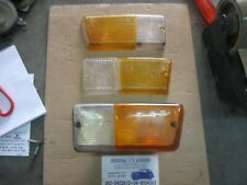 Renault R5 INDICATOR LENS + Base Left FRONT LAMP + Lenses Seima + Panza + Leart