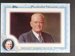 2015 Topps Archives Presidential Chronicles #PCHH Herbert Hoover - NM-MT
