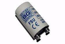 1X BG FSU Universal Fluorescent Tube Starter 4-80W (British General) 220-240V