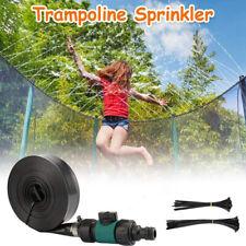 PVC Trampoline Sprinkler Water Sprayer Garden Watering Floor Car Cleaning Device
