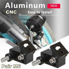 Pair CNC Aluminum Alloy Motorcycle Lower Fork Mount Headlight Spotlight Holder