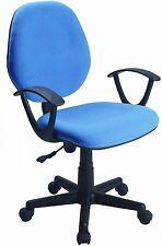 Silla de estudio/oficina, color azul