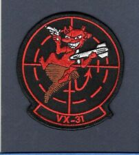 VX-31 DUST DEVILS US NAVY Flight Test Evaluation New TOP GUN Squadron Patch