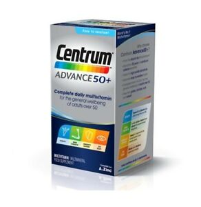 Centrum Advance 50 Plus Complete Daily Multivitamin 180 Tablets