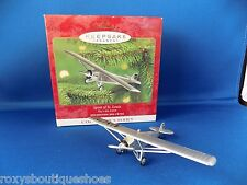 Spirit of St Louis Hallmark Ornament 4th Sky's the Limit Series New in Box 2000