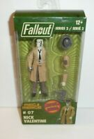 Fallout Action Figure Nick Valentine Character from the Video Game Series
