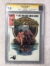 Tarzan of the Apes #1 July 1984, Marvel CGC 9.8 NM/M SIGNATURE SERIES Stan Lee