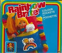 Rainbow Brite COLOUR POCKETS BED, LETTINO COLORATO IRIDELLA