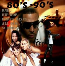 40 TRACKS》80'S - 90'S MUSIC CD》R&B》HIP HOP》PARTY MIXES》 OLD SCHOOL》DANCE》DJ Dred