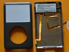 iPod Classic 6th 80gb Front&Back cover+headphone jack+battery assymbly(Gray)