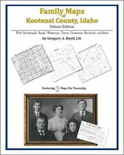 Family Maps Kootenai County Idaho Genealogy ID Plat