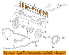 HONDA OEM Brake-Rear Pads 43022TK4A01