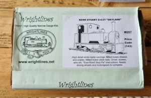 Wrightlines 7mm Narrow Gauge / O-16.5 Kerr Stuart 0-4-2T 'Skylark' Kit