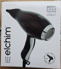 New Elchim 3900 Healthy Iconic Hair Dryer BLACK 2000-2400 Watts