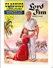 Classics Illustrated 136 (1957): Lord Jim: Original: Free to combine- in Vg/Fine