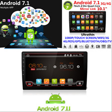 "10.1"" HD Android 7.1 WiFi 3G/4G 2 Din Quad-Core Car GPS Nav Stereo Radio Player"