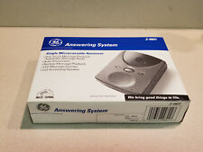 GE Single Microcassette Answerer Answering System Model #2-9801D (NEW)