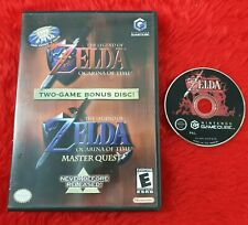 *gamecube ZELDA OCARINA OF TIME + MASTER QUEST the Legend of (NI) wii PAL
