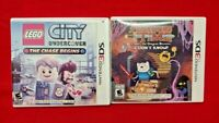 Adventure Time + LEGO City Undercover  -  Nintendo DS DS Lite 3DS 2DS Lot Tested