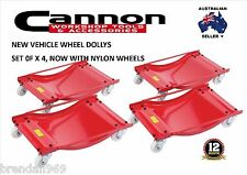WHEEL DOLLY Set OF 4  CAR DOLLIES 450kg  Positioning Dollys Trailer Caravan Boat