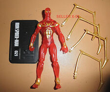 Marvel universe Iron Spider Variant figure Translucent rare chase Spider-Man toy