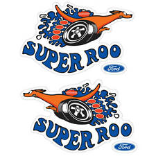 XW SUPER ROO DECAL SET (1 right hand 1 left hand)