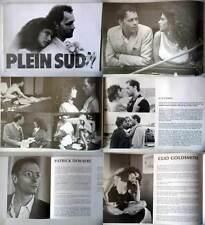 PLEIN SUD - Dewaere,Goldsmith,Moreau - DOSSIER DE PRESSE/FRENCH PRESSBOOK