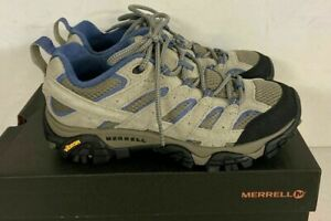 NEW Merrell Women's Moab Vent Ventilator Hiking Shoe Aluminum  8 WIDE  #356