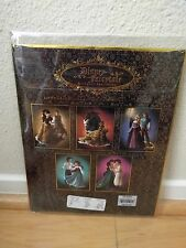 Disney Fairytale Couple Designer Lithograph Limited Edition Ariel Belle Rapunzel