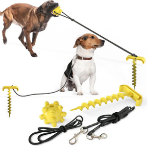 Dog Toy Tug For Aggressive Chewers Dog Training Teething Indestructible Outdoor
