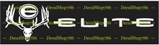 Elite Archery-Big Rack - Outdoors/Bow Hunting- Vinyl Die-Cut Peel N' Stick Decal
