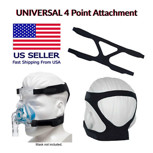 2 Pack Universal CPAP Mask Strap for ResMed, Respironics, Fits Many CPAP Masks
