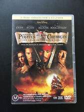 PIRATES OF THE CARIBBEAN - CURSE OF THE BLACK PEARL DVD R4 - 2 DISC SET PAL