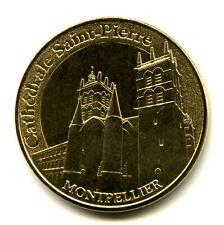 34 MONTPELLIER Cathédrale Saint-Pierre 2, 2015, Monnaie de Paris