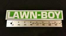 Reproduction lawn boy bricktop mower metal shroud single decal. 5024 7024 etc.