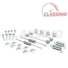 """Rear Brake Shoe Fitting Kit for FORD ESCORT RS2000 9"""" Drum - 1976 to 1980 - TRW"""